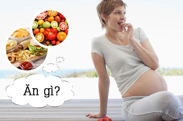 Chế độ ăn uống hợp lý là cách trị tào bón cho bà bầu
