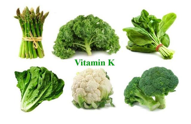 tiểu cầu thấp nên ăn gì - vitamin K