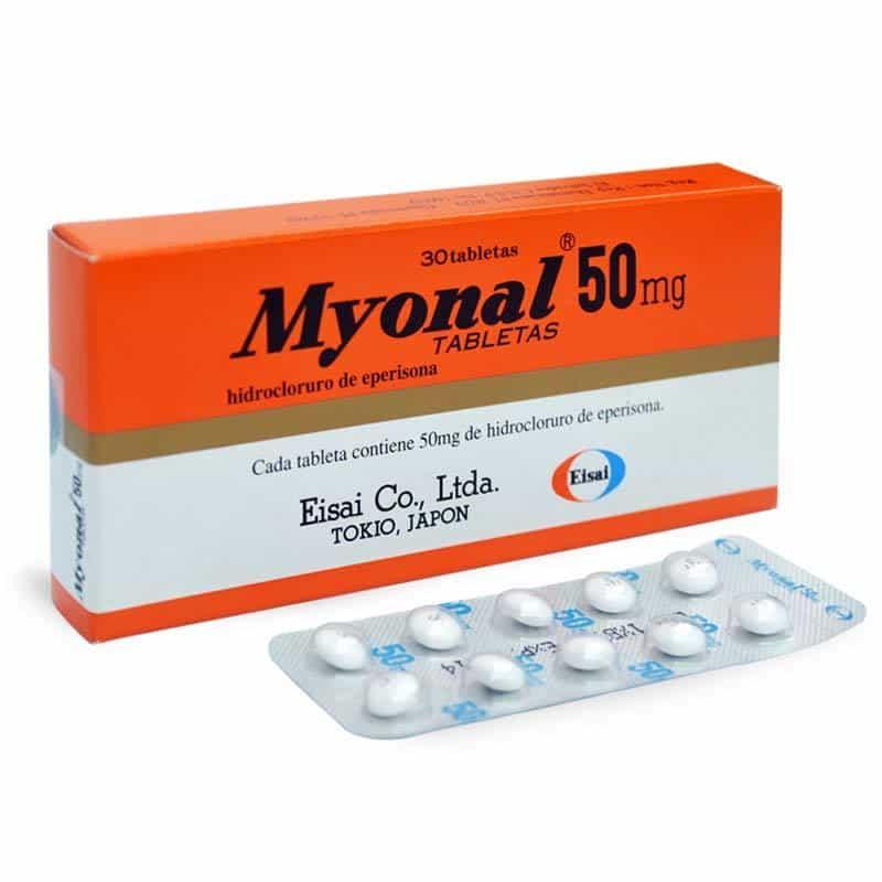 Những điều bạn chưa biết về thuốc Myonal 50mg