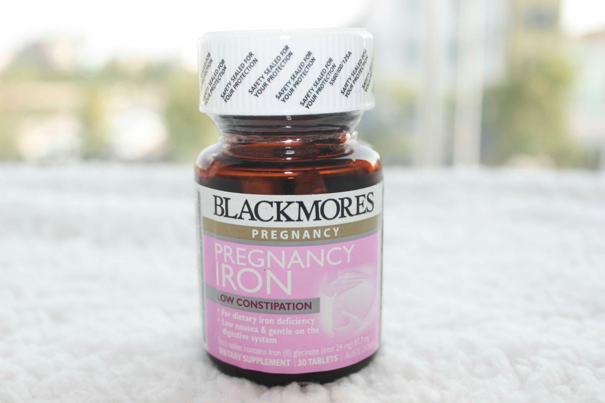 Thuốc Blackmores Pregnancy Iron bổ sung sắt cho bà bầu