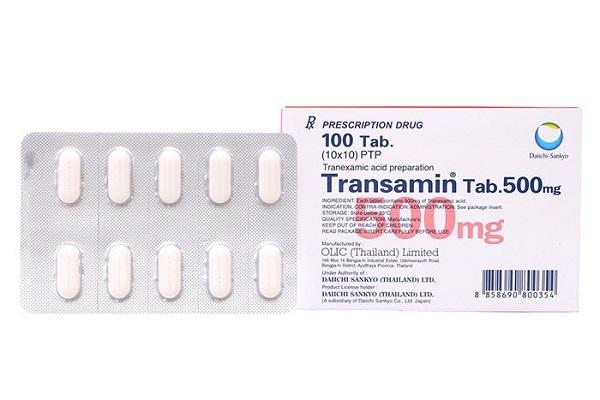 Những thông tin cần nắm rõ về thuốc Transamin