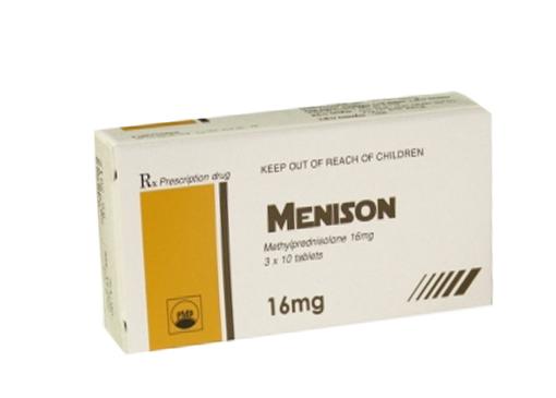 Tìm hiểu cách sử dụng của thuốc Menison 4mg và thuốc Menison 16mg