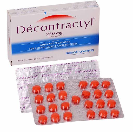 Tác dụng và cách sử dụng của thuốc Decontractyl là gì?