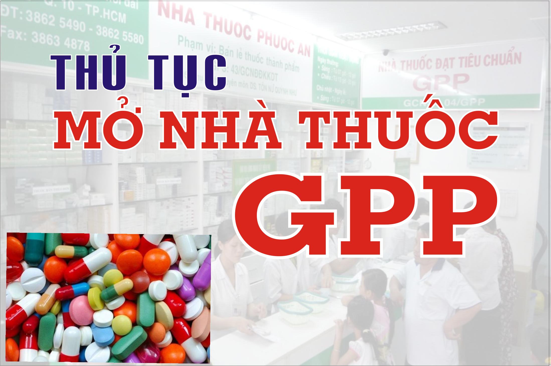 Thủ tục dược sĩ đại học mở nhà thuốc